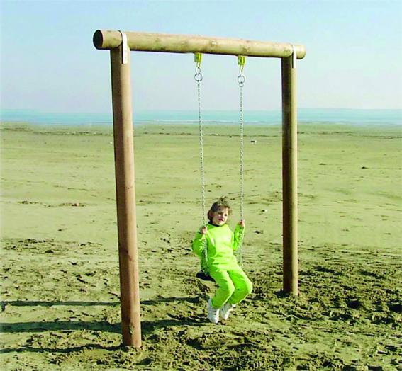 Columpio infantil madera CO211 speedcourts