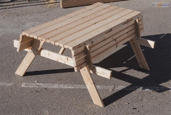 mesa picnic asientos plegables speedcourts