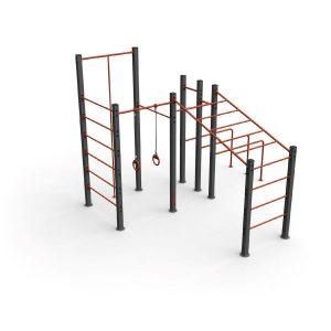 gimnasio exterior equipamiento deportivo urbano speedcourts