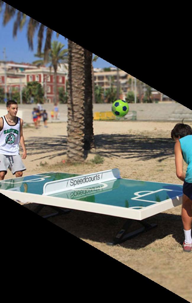 mesas soccer speedcourts