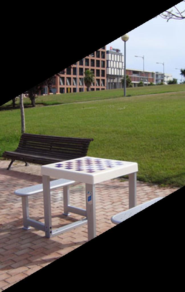 mesas multijuegos mobiliario urbano speedcourts