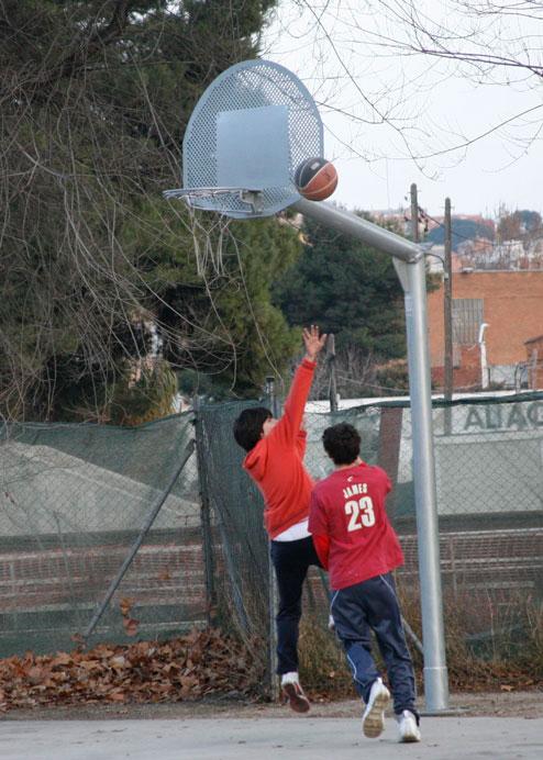 canasta street basket antivandalica