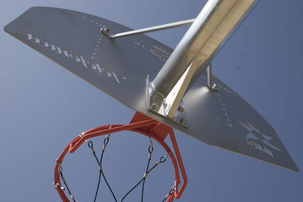 aro y brazo canasta baloncesto speedcourts