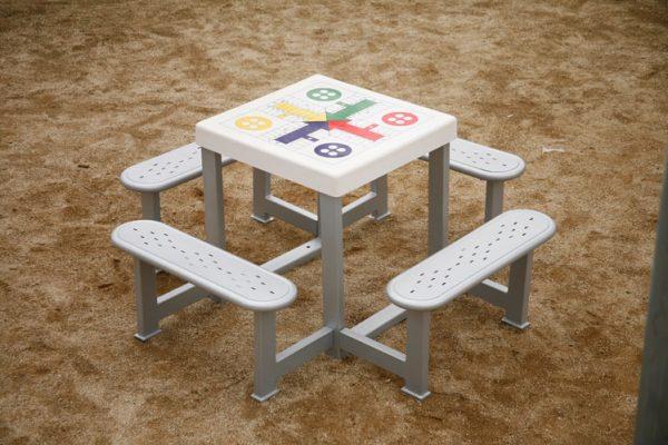 mesa multijuegos antivandalico speedcourts