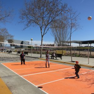 red de voleibol speedcourts