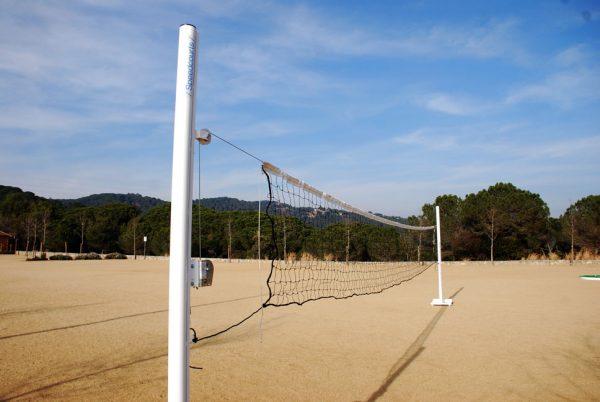 red de voleibol trasladable speedcourts